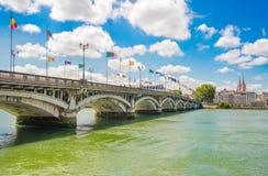 Байонна, Баскония, Аквитания, Франция Стоковое Изображение RF