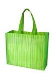 бакалея мешка пустая зеленая многоразовая стоковое изображение rf