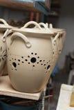 баки засыхания глины стоковое изображение