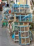 Баки омара сложенные вверх Стоковое фото RF
