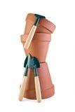 баки сада глины 3 инструмента Стоковое фото RF