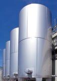 баки фабрики химии Стоковые Изображения RF