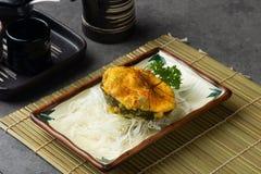 Баклажан и трюфеля авокадоа стоковое изображение rf