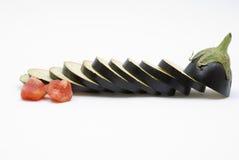 баклажан свежий Стоковое Изображение RF