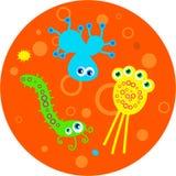 бактерии Стоковые Фотографии RF