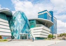Баку - 18-ое июля 2015: Торговый центр бульвара парка 18-ого июля Стоковые Фотографии RF