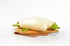 баклажаны белые Стоковая Фотография RF