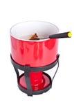 бак вилки fondue хлеба Стоковые Фото