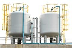 Бак для хранения в регулируемой газовой среде стоковые фото