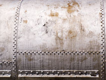 бак заклепок металла старый Стоковые Изображения RF