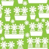 бак значка цветков безшовной иллюстрации Стоковые Фото