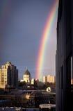 бак золота города Стоковые Фотографии RF
