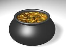 Бак золота Стоковое Фото