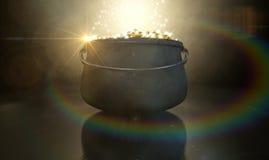 Бак золота Стоковое Изображение RF
