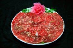 Бак китайской еды горячий - материалы еды стоковые фотографии rf