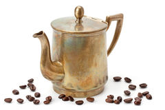 бак кофе старый стоковые фото