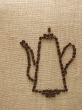 бак кофе Стоковое Изображение