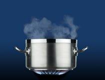 Бак на огне стоковое изображение rf