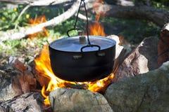 Бак на пожаре Стоковое фото RF