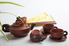 Бак песка утварей чая Китая фиолетовый Стоковые Фото