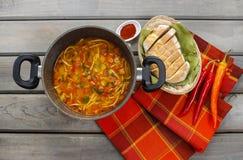Бак супа томата Стоковое Фото