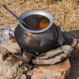 Бак с едой стоковое изображение