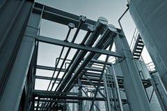 бак трубопровода 4 ферм Стоковые Изображения