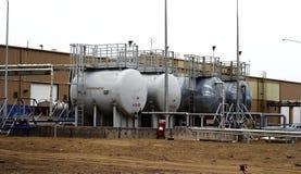 Бак для хранения топлива Стоковая Фотография