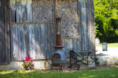 Бак belly вне бортовая деревянная плита Стоковое Изображение