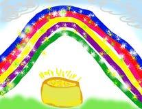 бак s золота чертежа ребенка Стоковые Фотографии RF