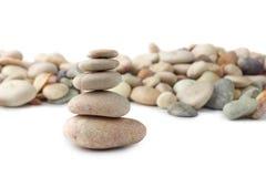 балансируя камни Стоковые Фотографии RF