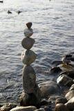 балансируя камни Стоковое фото RF