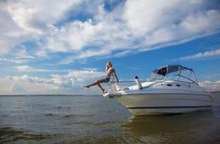 балансируя яхта стержня s Стоковое фото RF