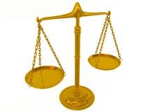 баланс золотистый Стоковое фото RF