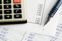 баланс финансовохозяйственный стоковое изображение rf