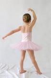 Балерина маленькой девочки Стоковая Фотография