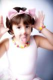балетная пачка девушки розовая Стоковая Фотография