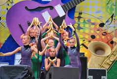 Балет русских детей Стоковое фото RF