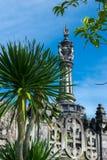БАЛИ, ИНДОНЕЗИЯ - 10-ОЕ АПРЕЛЯ 2017: Парк Puputan Badung, Бали Стоковые Изображения