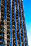 Балконы и гостиница Windows стоковые фотографии rf