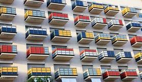 балконы Стоковые Фотографии RF