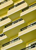 балконы Стоковое Фото
