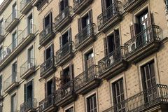 балконы стоковое изображение rf