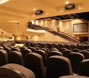 балкон аудитории underneath стоковые изображения rf