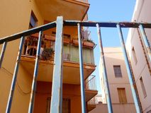 Балкон в Италии Стоковое Фото