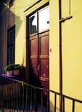 Балкон в Львове стоковое изображение rf