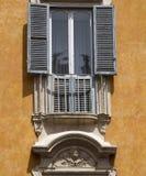 Балкон в Рим Стоковые Изображения