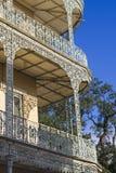 Балкон Нового Орлеана внешний Стоковое Изображение