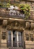балкон парижский Стоковое Изображение RF