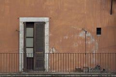 балкон старый Стоковое Изображение